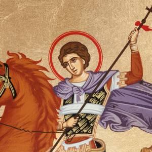 Saint Demetrius icon, Greece, silkscreen printing s2