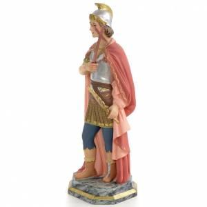 Saint Expedite of Melitene Statue in wood paste, 30 cm s2
