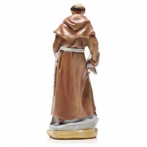Saint François de Assise 12cm image et prière en Anglais s2