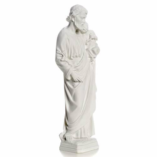 Saint Joseph Statue in Reconstituted Carrara Marble s2