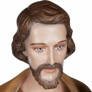 Saint Joseph with infant Jesus  fiberglass statue, 100 cm s4