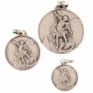 Pendants, crosses and pins: Saint Michael Archangel silver 925 medal