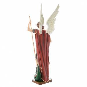 Saint Michel Archange fibre de verre peint 180cm s3