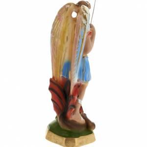 Saint Michel Archange plâtre 20 cm s4