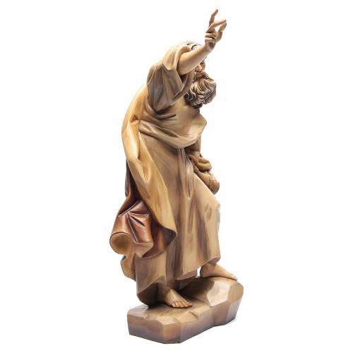 Saint Paul en bois nuances de marron s3