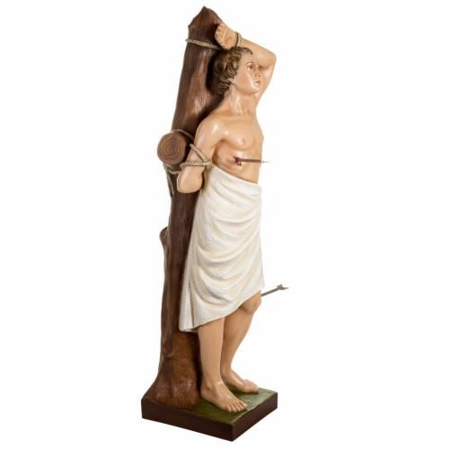 Saint Sebastian fiberglass statue 125 cm s5