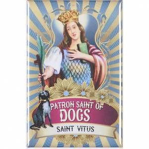 Religious Magnets: Saint Vitus badge, lux