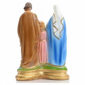Sainte Famille en plâtre 30 cm s3
