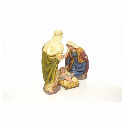 Sainte Famille résine 63 cm s4