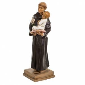 San Antonio de Padua 40 cm. estatua resina Fontanini s3