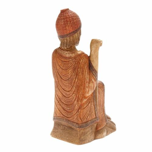 San Giuseppe Presepe d'Autunno legno dipinto s3