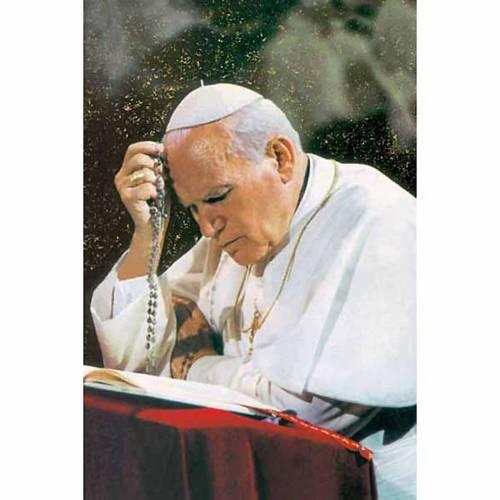 Santino Giovanni Paolo II in preghiera s1