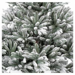 Sapins de Noël: Sapin de Noël 210 cm Poly enneigé Imperial Bleu