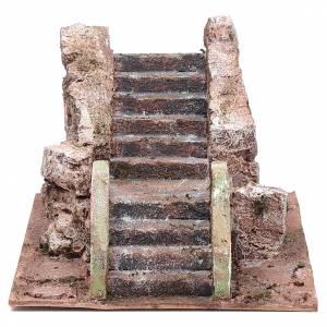 Scaletta del presepe antica 10x15x25 cm s1