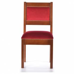 Amboni, inginocchiatoi, complementi d'arredo: Sedia moderna legno di noce stile Assisi