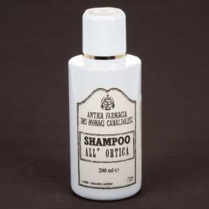 Shampooing, gel douche, savons et dentifrice: Shampoing, ortie  200ml