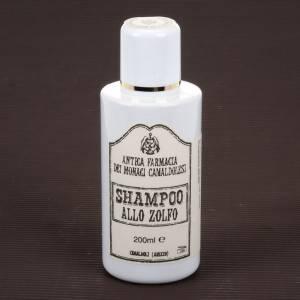 Shampoo, bagnoschiuma, saponi, dentifricio: Shampoo allo Zolfo 200 ml