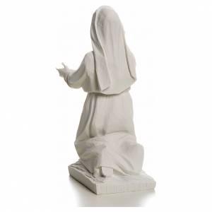 Shepherdess Jacinta, 22cm reconstituted carrara marble statue s4