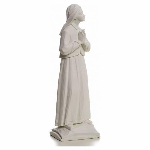Shepherdess Lucia, 32cm reconstituted carrara marble statue s2