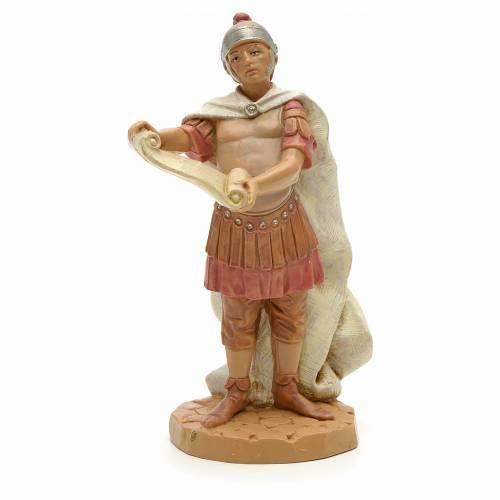 Soldado romano con pergamina 12 cm Fontanini s1