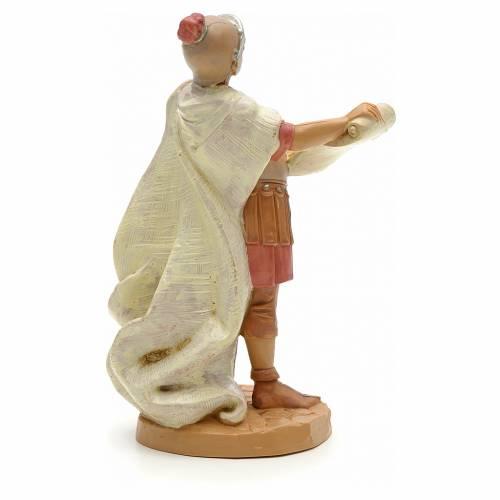 Soldado romano con pergamina 12 cm Fontanini s2