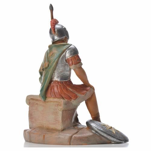 Soldat roman assis crèche Fontanini 12cm s2