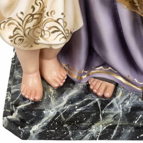 St Joseph et enfant 60 cm pâte à bois classique s4