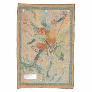 Tapestries: St Michael Archangel by Guido Reni 65x45cm