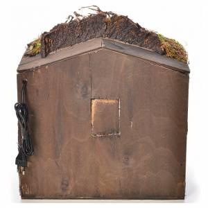 Presepe Napoletano: Stalla presepe napoletano 34x38x30 cm