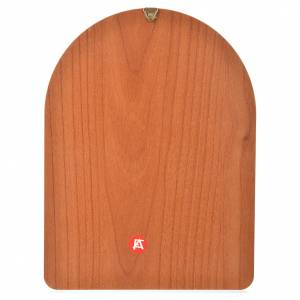 Stampa su legno 15x20cm Lourdes s2