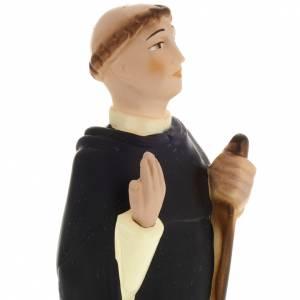 Statua Beato Giovanni da Vercelli 30 cm s2