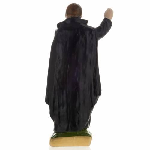 Statua Clemens Maria gesso 20 cm s3