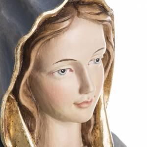 Statue in legno dipinto: Statua Madonna della Protezione legno Val Gardena