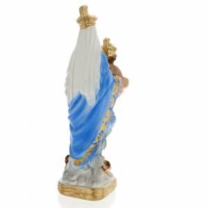 Statua Notre Dame des Victoires gesso 20 cm s4