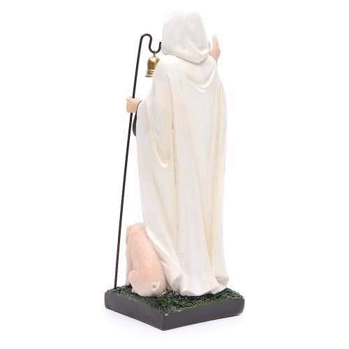 Statua S. Antonio Abate 30 cm resina s3