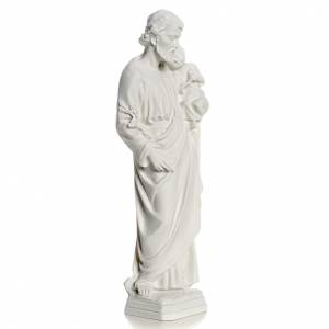 Statue in polvere di marmo di Carrara: Statua San Giuseppe marmo sintetico