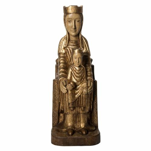 Vergine Incoronata di Séez 66 cm legno dorato Bethléem s1
