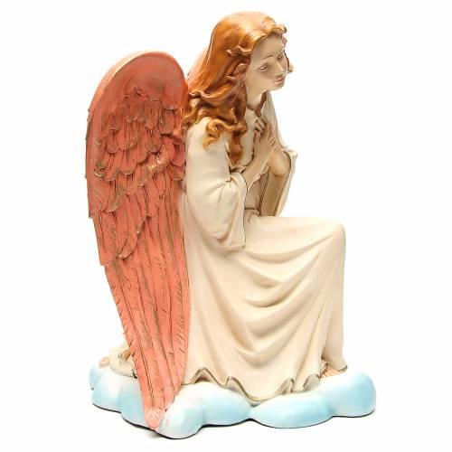 Statue ange Gloire pour crèche 65 cm s4