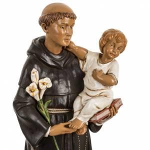 Statuen aus Harz und PVC: Statue Antonius von Padua 40cm aus Harz, Fontanini