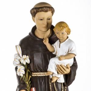 Statuen aus Harz und PVC: Statue Antonius von Padua aus Harz 100cm, Fontanini