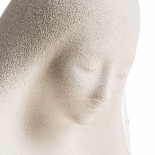 Statue argile Vierge de l'accueil 33 cm s4