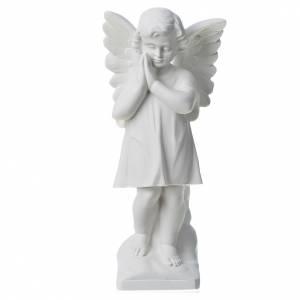 Statues en marbre reconstitué: Statue en marbre Angelot 30 cm