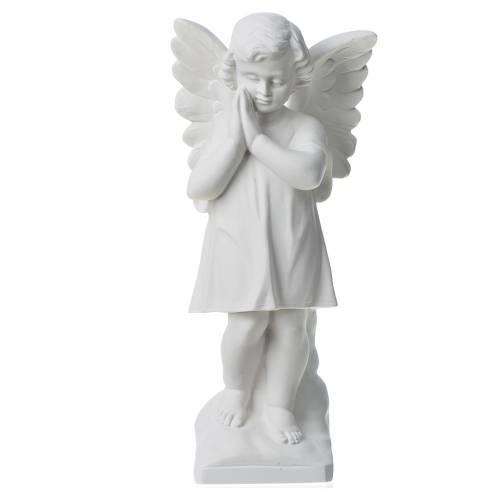 Statue en marbre Angelot 30 cm s1