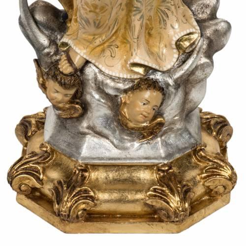 Statue Immaculée 50 cm pâte à bois extra s7