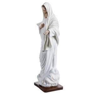 Statue Notre-Dame de Medjugorje fibre de verre peinte 170cm s4