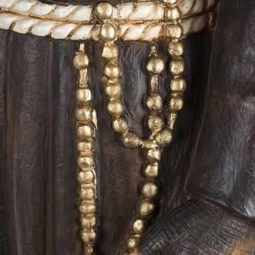 Statue Père Pio 100 cm résine Fontanini s5