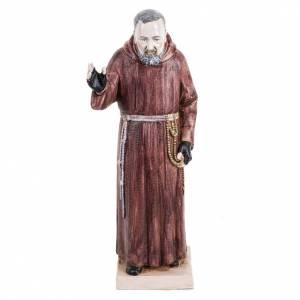 Statuen aus Harz und PVC: Statue Pio von Pietralcina 30cm Porzellan Finish, Fontanini