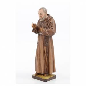 Statue Saint Pio résine 30 cm Landi s2