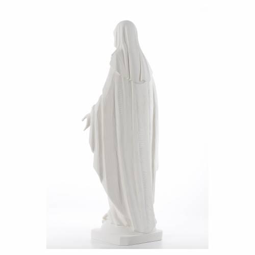 Statue Vierge Miraculeuse 100 cm fibre de verre s3