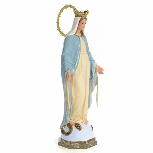 Statue Vierge Miraculeuse 60 cm pâte à bois s4